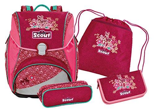 Scout Basic Alpha Schulranzen-Set, Rot