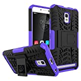 Casefirst Lenovo A6600 Case, Thin Slim Durable Full Lens Protection Comfortable Soft Case Back Cover for Lenovo A6600 - Purple