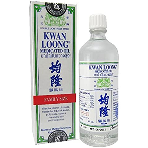Kwan Loong Medicated Oil 57ml (Largest! Bottled Oil Size)
