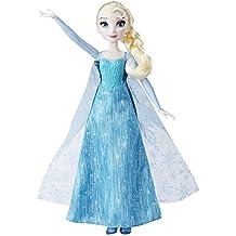 Frozen - Muñeca transformación real de Elsa (Hasbro B9203EU4)