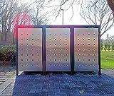 Top 10 und Kaufberatung für Mülltonnenboxen aus Edelstahl