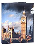Fotoalbum London Motiv Big Ben für 120 Fotos in 10x15 Reisen Travel England Nr. EM1