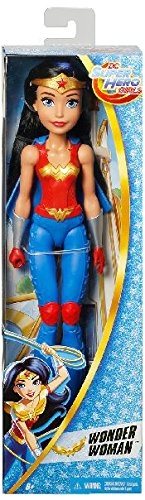 DC Super Hero Girls - Wonder Woman, muñecas Entrenamiento (Mattel DMM24)