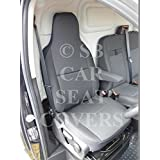 Opel Vivaro Sportive Van nueva forma Van fundas de asiento–Rossini Antracita 1Conductor Funda De Asiento sólo