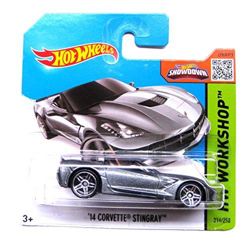 Hot Wheels Chevrolet Corvette Stingray 2014 convertible grau-metallic 216/250 1:64