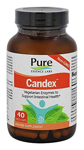 Candex, 40 Veggie Caps - Pure Essence