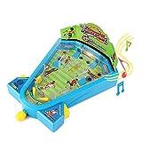 elektronischer Fussball-Flipper für Kinder. klassisches Pinball-Spiel PIN-Kugel
