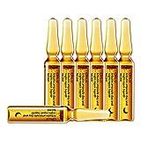 Alecony 2ML / 7PC Feuchtigkeitsspendendes straffendes Gesichtsserum,Hyaluronsäure Serum, Gesichtsessenz Feuchtigkeitspflege für vitalisierende hydratisierende Schneckenextrakt Kollagen Haut (B)