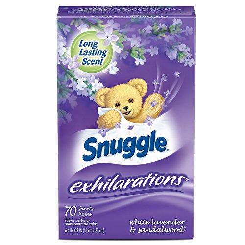 Snuggle Aromatücher Trocknertuecher - Exhilarations Twist 70 Stück (lila box) (Lila American Top)