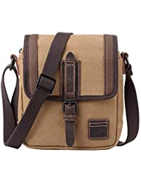 Troop London Canvas Leather Handbags   Across Body Bags for Men and Women   Shoulder  Bags b5b91cc301
