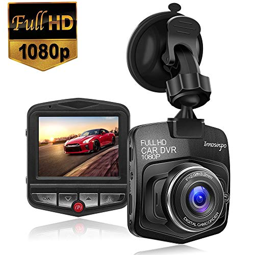 Upgraded Dash Cam Car Camera 1080P FHD Car DVR Dashboard Camera Video Recorder with Night Vision,G-sensor,Loop Recording,Motion Detection and Parking Monitor