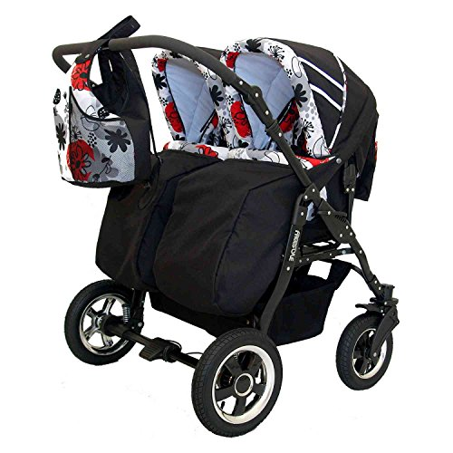 Zwillingskinderwagen Freestyle Twins 2in - 5
