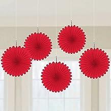 Amscan 29055-40 - Artículo de fiesta, un tamaño, color rojo