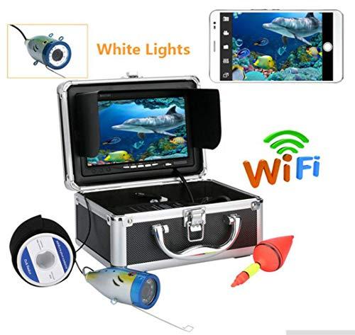 Love Life Sport Kamera, Tragbarer 7-Zoll-LCD-Monitor Fisch Unter Wasser HD-Kamera 1000TVL Angel Kamera 50 Meter Kabel 12 Infrarot-LED Für EIS, See-Und Boots Fischerei