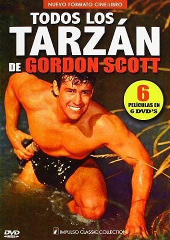 Todos los Tarzan de Gordon Scott [6 DVDs] [Spanien Import]