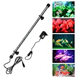 Aquarium LED Beleuchtung Leuchte Lampe SMD5050 Lighting für Fisch Tank EU Stecker 75CM RGB Wasserdicht IP68