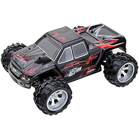 kingtoys® WLtoys A979 Rc auto 1/18 2.4GH 4WD Monster Truck Telecomando Automobile