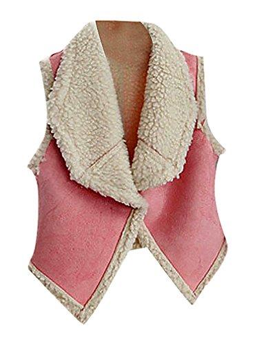 Zamot -  Gilet  - Senza maniche  - Bebè femminuccia Pink 4 anni