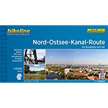Nord-Ostsee Kanal-Route von Brunsbüttel nach Kiel GPW wp