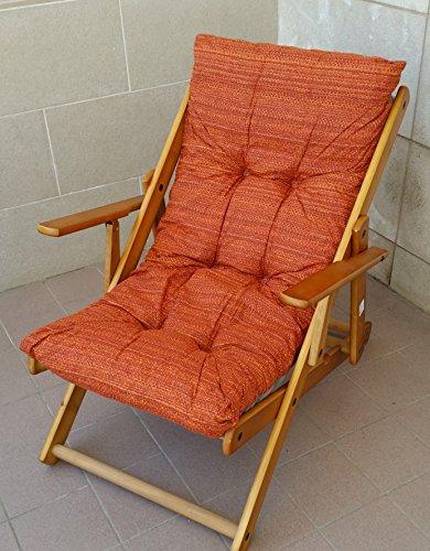 Cuscini cuscino imbottito di ricambio per poltrona sdraio relax sedia legno assortiti 380878