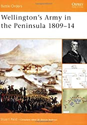 Wellington's Army in the Peninsula 1809-14 (Battle Orders, Band 2)