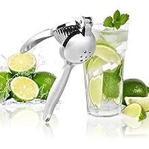 UMIGAL Citrus Juicer Limón Exprimelimones de calidad Juice Extractor Exprimidor, Manual, Acero inoxidable, heavy duty, adecuado para exprimir Naranja, limón y otros hull-free Fruits plata