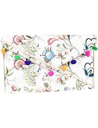 Rajasthani Jaipuri Bohemian Art Sling Bag Foldover Purse - B07FN3GWX4