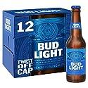Bud Light Lager Bottle, 12 x 300ml