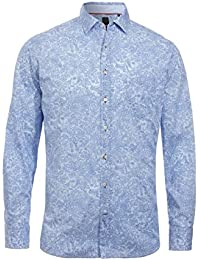 Pure blaue mode fit hemd