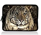 Colorfulbags Tiger Design Universal 15 inches Laptop Netbook Bag Sleeve Case Cover for 15.4 15.5 15.6 inch Macbook Pro Retina,Dell Inspiron,Alienware M15x,Asus Toshiba Satellite,HP ENVY Pavilion,Lenovo Thinkpad Samsung Sony Notebook(UK PS15-103)