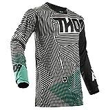 THOR PULSE GEOTEC Motocross Jersey 2018 - schwarz teal