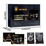 LIGHTAILING-Set-di-Luci-per-Creator-Expert-Treno-di-Natale-Modello-da-Costruire-Kit-Luce-LED-Compatibile-con-Lego-10254-Non-Incluso-nel-Modello