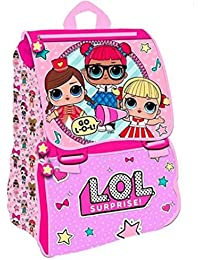 LOL Surprise - Bolsa Escolar Rosa Rosa