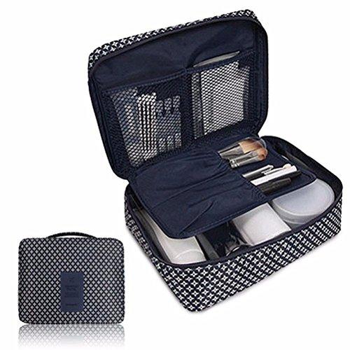 Bolso cosmético del maquillaje,Pockettrip claro cosméticos maquillaje bolsa aseo kit de viaje...
