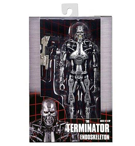 Terminator 7 pulgadas figura de accioen de T-800 esqueleto final (terminador) Classic 1