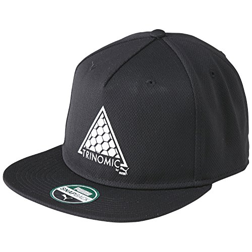 Puma Cap Trinomic Tech PP Snapback, Black, One Size -