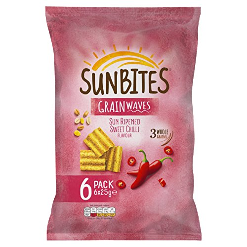 Walkers Sunbites Sun Ripened Sweet Chilli 6X25g