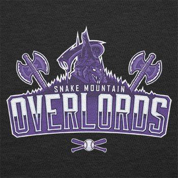TEXLAB - Snake Mountain Overlords - Herren T-Shirt Schwarz