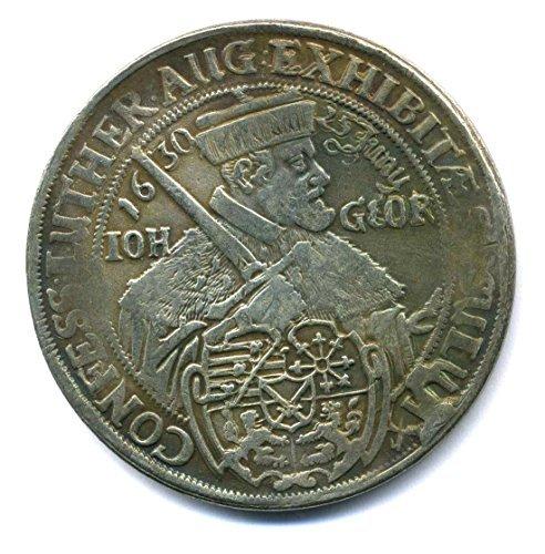 Altdeutsche Münze - Taler Dresden 1630 Sachsen Johann Georg I. Replica