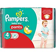 Pampers Baby-Dry Pants Gr.4, 8-15kg, 27 Windeln, 1 Packung=1 Impfdosis