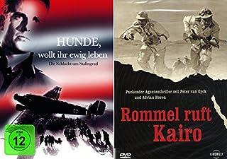 History Collection 2er Set | Rommel ruft Kairo + Hunde wollt ihr ewig leben?