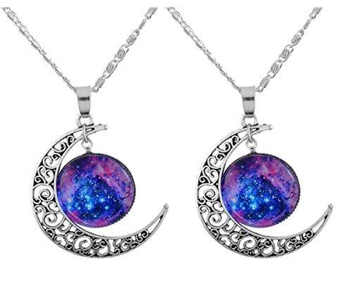mjartoria-love-lightened-planet-filigree-crescent-moon-nebulae-cabochon-friendship-necklace-set-of-2