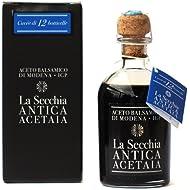 Balsamic Vinegar from Modena Aged in 12 Barrels I.G.P. Certfied by La Secchia 250ml - Italian Gourmet Del