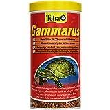 Tetra Gammarus (hochwertiges Naturfutter für Wasserschildkröten aus ganzen Bachflohkrebsen), 1 Liter Dose