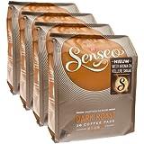 Senseo Dark Roast / Corsé, Nouveaux Design, Lot de 4, 4 x 36 Dosettes de Café