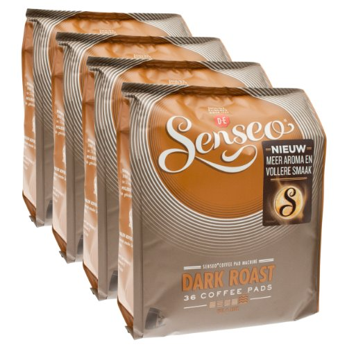 Senseo Kaffeepads Dark Roast / Kräftig, Intensiver und Vollmundiger Geschmack, Kaffee, neues...