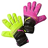 Puma Torwarthandschuhe Evopower Grip 2.3 RC, Pink Glo/Safety Yellow/Black/Tricks, 9, 041222 10