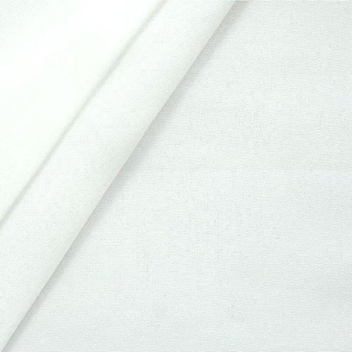 Liegestuhlstoff Outdoorstoff Stoff Breite 45 cm Meterware Weiss