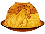 Best Glow Candles - Welink Light-Glow Tealight Candle Holder, Horses Review
