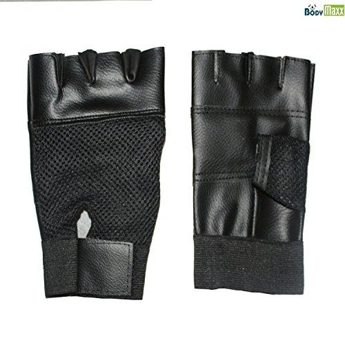 Body Maxx Gym Hand Gloves Black